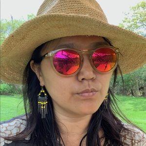 Le Specs Accessories - Le Specs rose gold tinted sunglasses